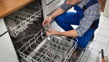 چگونه بازوهای اسپری را در ماشین ظرفشویی بررسی کنیم؟