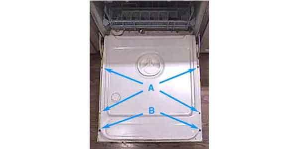 چگونه مونتاژ بی متال را در ماشین ظرفشویی بررسی کنیم؟